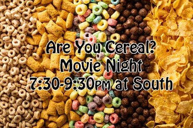 Are You Cereal? @ South Church