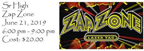Sr High Zap Zone @ Zap Zone