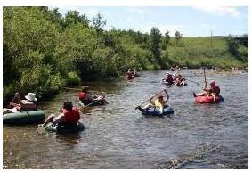 Jr. High River Tubing