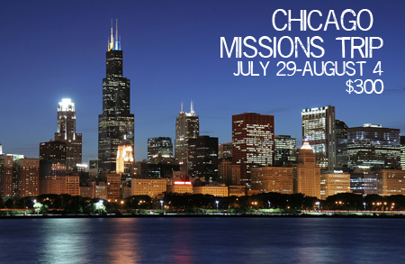 Chicago Missions Trip @ New Life Centers of Chicagoland