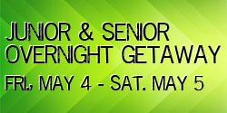 Juniors & Seniors Overnight Getaway @ South Church