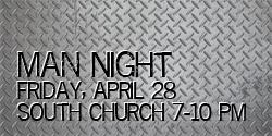 Jr. High Man Night @ South Church