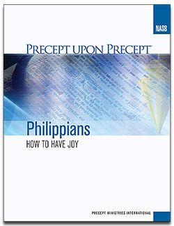 Precept Women's Study: Philippians @ South Church - Rm. 201