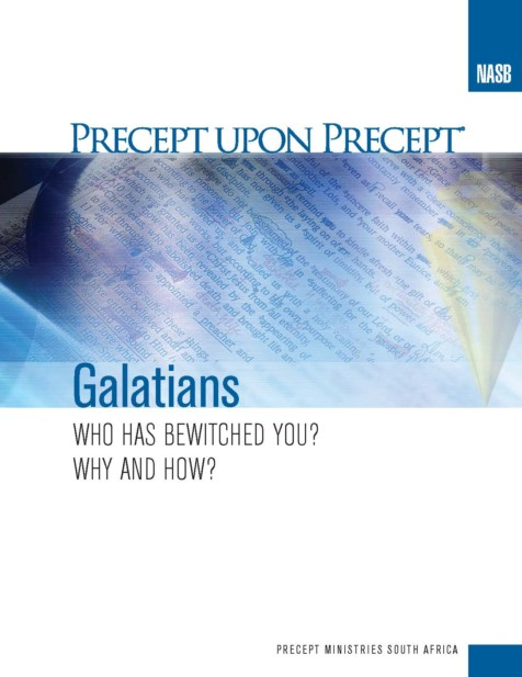 Women's Study - Precept Inductive Study on Galatians @ South Church, Room 111 (zoom available by request)