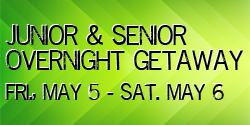 Junior & Senior Overnight Getaway @ South Church