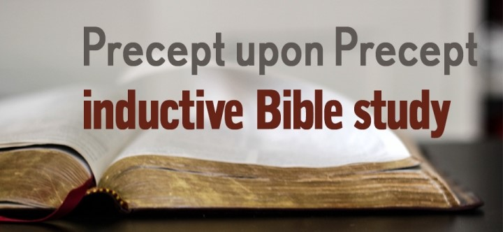 Women's Study: Precepts Inductive Study on Deuteronomy @ South Church, Room 111